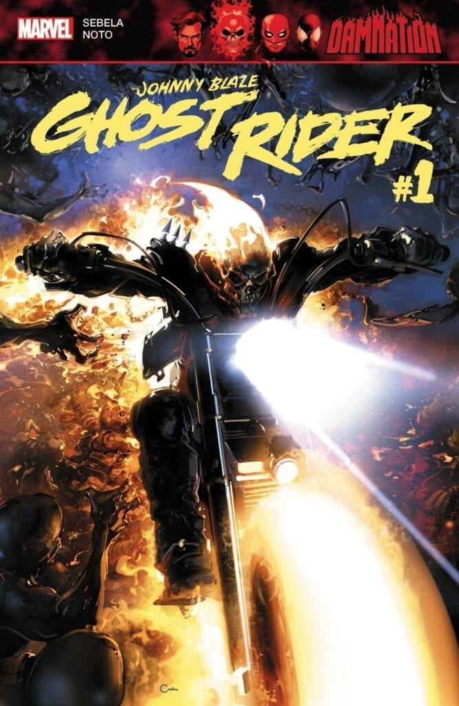 Comic completo Damnation: Johnny Blaze - Ghost Rider