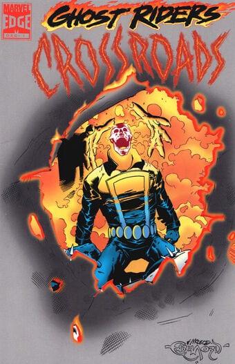 Comic completo Ghost Rider: Crossroads