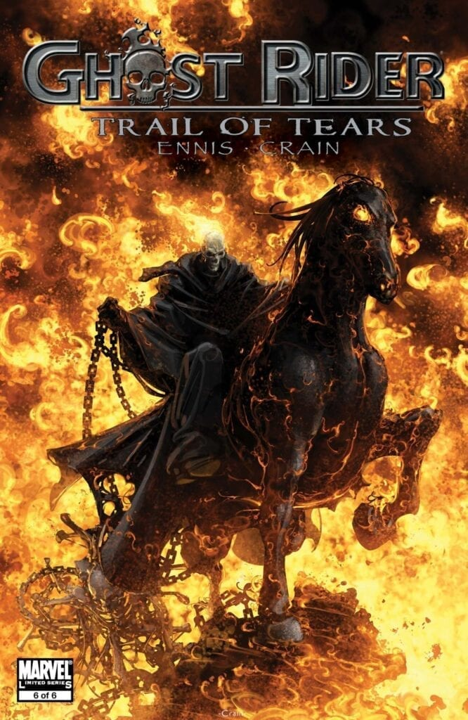 Comic completo Ghost Rider: Trail of Tears
