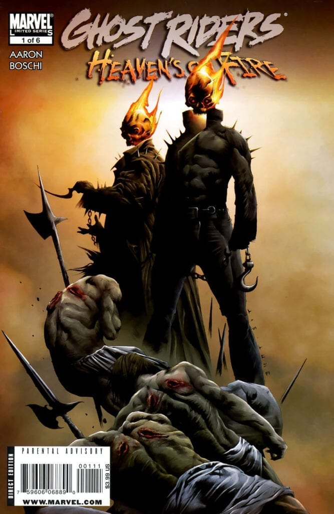 Comic completo Ghost Riders: Heaven's on Fire