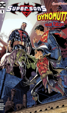 Comic completo Super Sons/Dynomutt