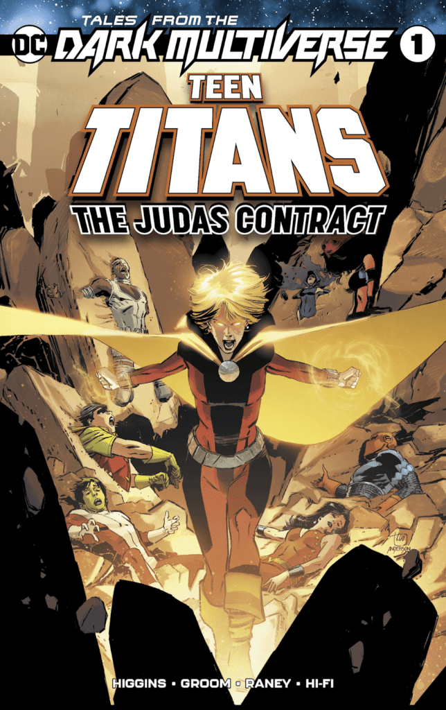 Comic completo Tales from the dark multiverse: teen titans - the judas contract