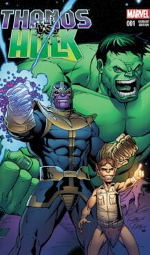 Comic completo Thanos Vs Hulk