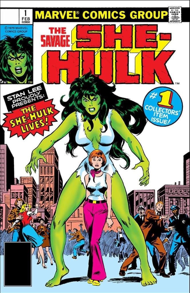 Descargar The Savage She Hulk comic