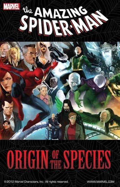 Comic completo The amazing spider man: Origin Of The Species
