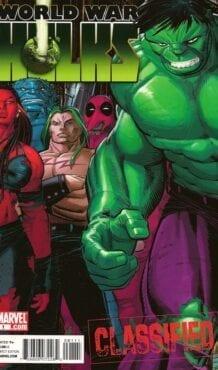 Comic completo World War Hulks