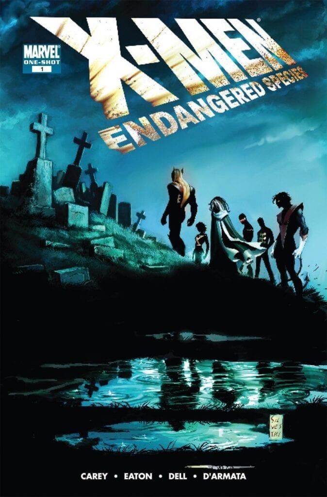 Comic completo X-Men: Endangered Species