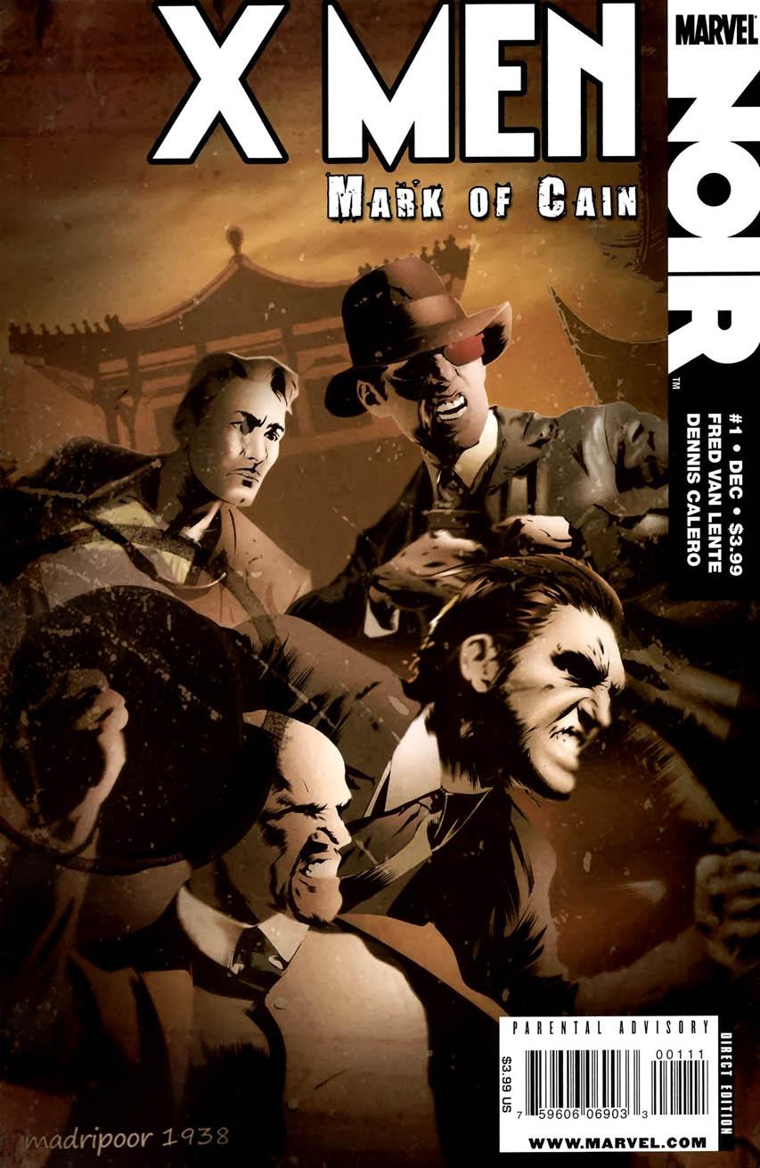 Comic completo X-Men Noir - Mark of Cain