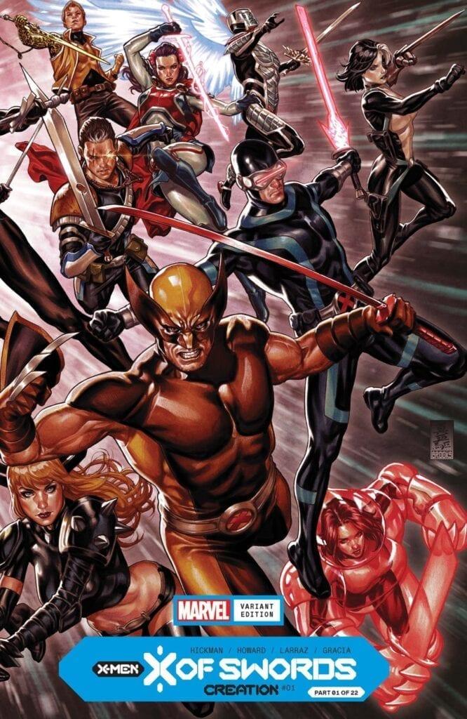 Comic completo X Of Sword