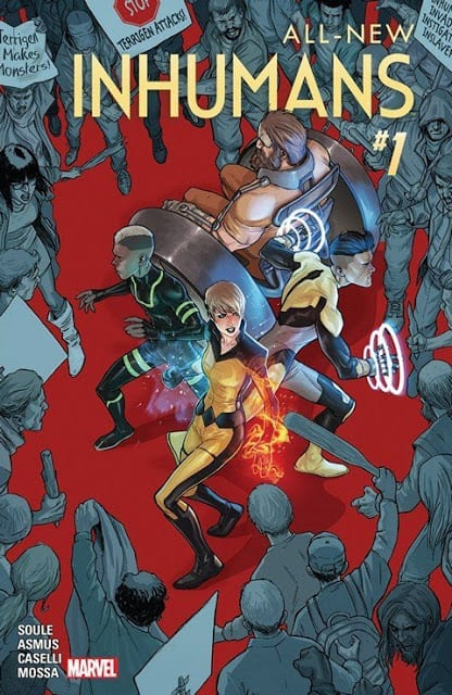 Comic completo All-New Inhumans