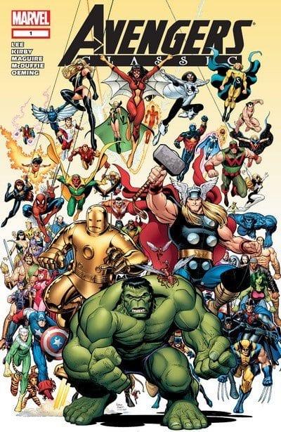 Comic completo Avengers Classics