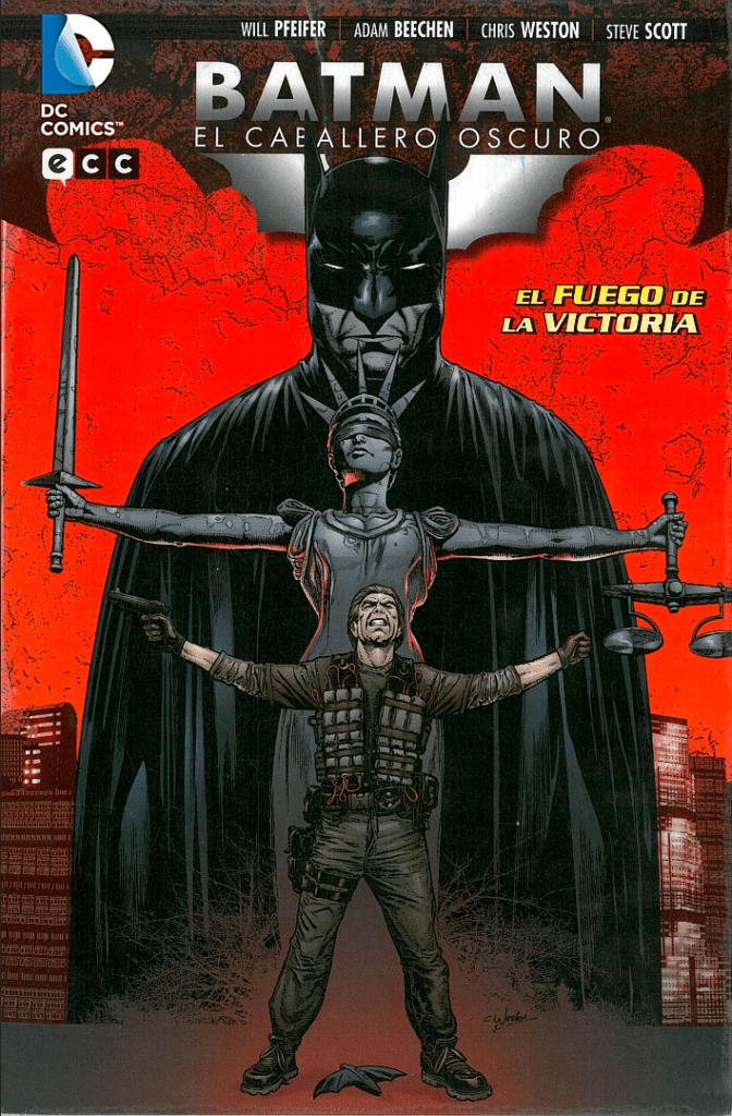 Descargar Batman El Caballero Oscuro El Fuego De La Victoria comic