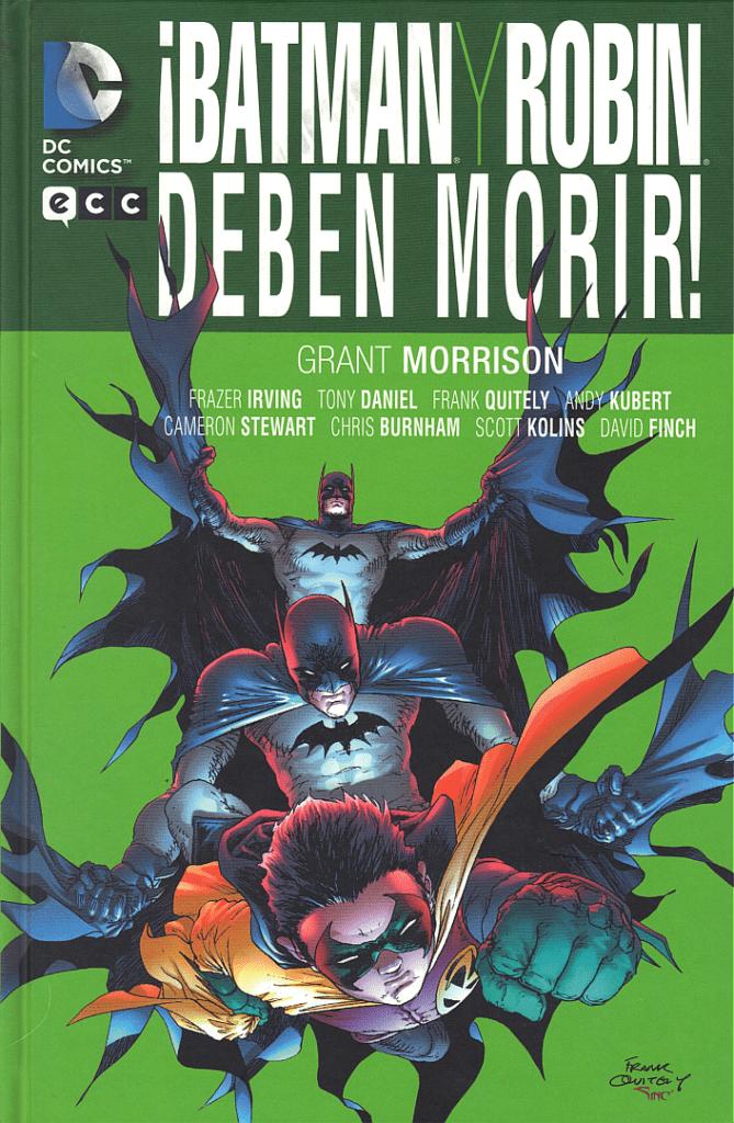 Descargar Batman y Robin deben morir comic
