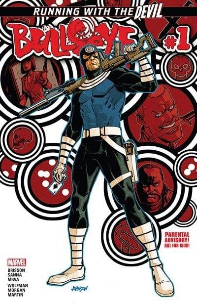 Comic completo Bullseye Volumen 1