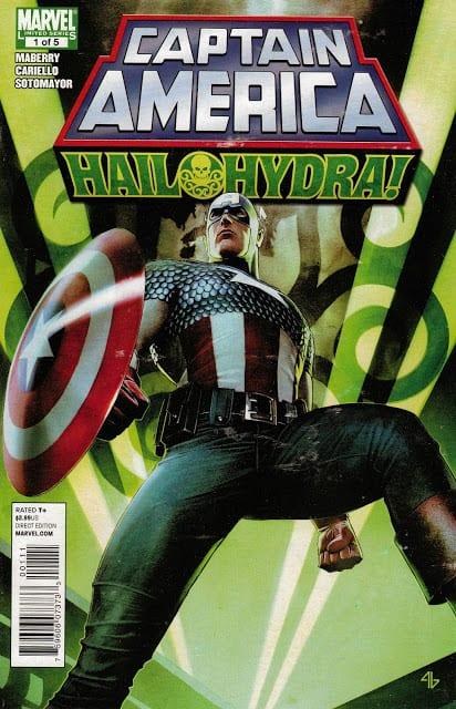 Comic completo Captain America: Hail Hydra