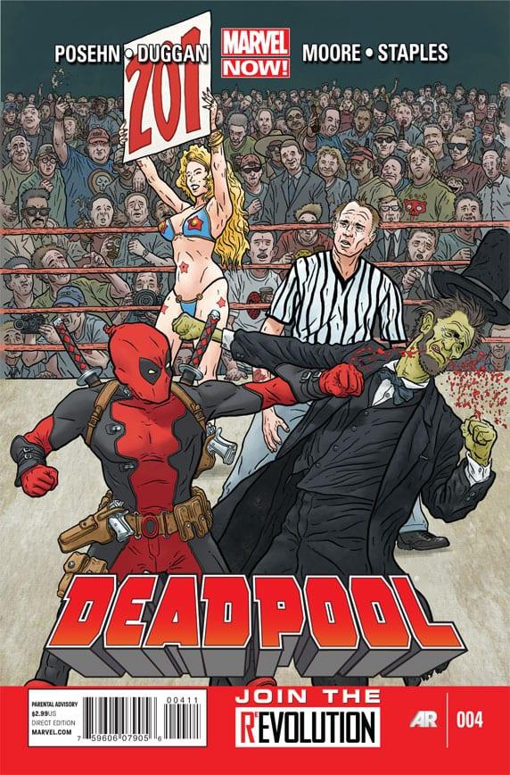 Comic completo Deadpool Kills Presidents