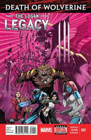 Comic completo Death of Wolverine: The Logan Legacy