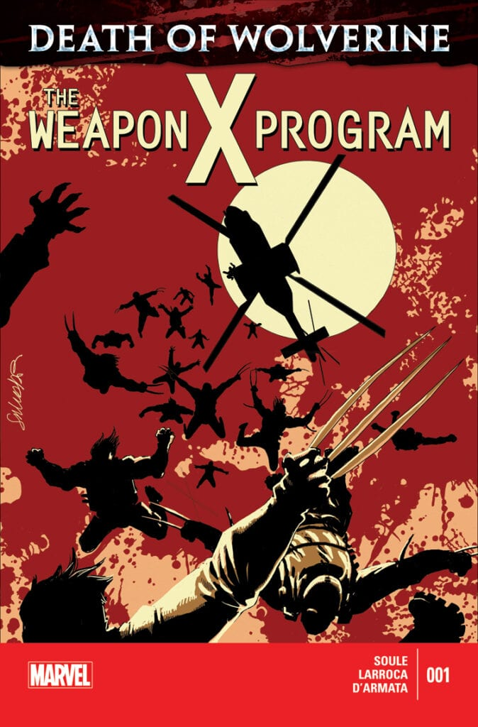 Comic completo Death of Wolverine: The Weapon X Program