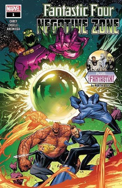 Comic completo Fantastic Four: Negative Zone