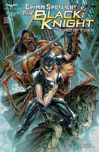 Descargar Grimm Spotlight Black Knight vs Lord of the Flies comic