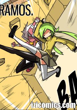 Comic completo Maki y sus amigos