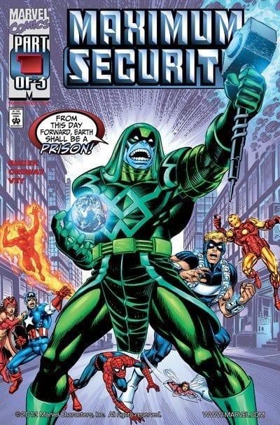 Comic completo Maximum Security