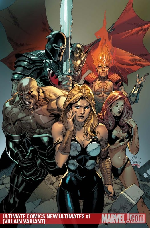 Comic completo Universe Ultimate: New Ultimates