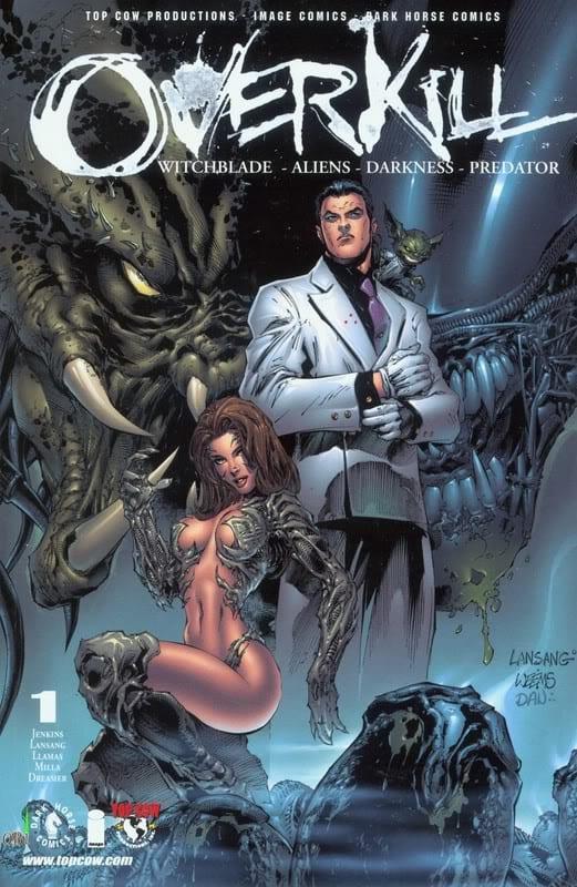 Descargar Overkill Witchblade Aliens Darkness Predator comic