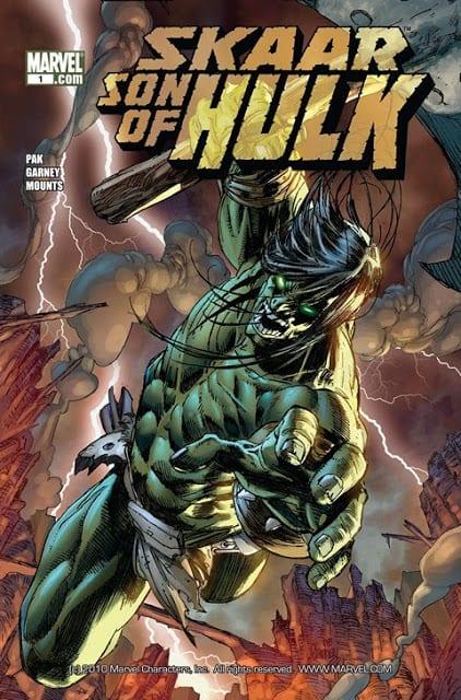 Comic completo Skaar Son of Hulk
