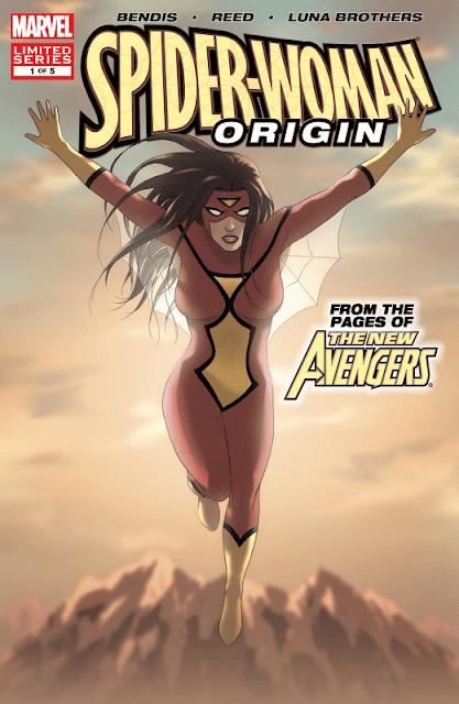 Comic completo Spider-Woman Origin