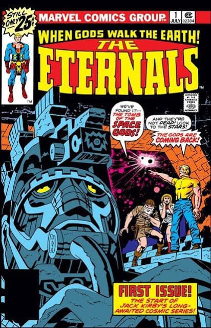 Comic completo The Eternals [Volumen 1 al 4]