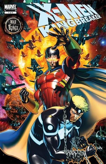 Comic completo X-Men Kingbreaker