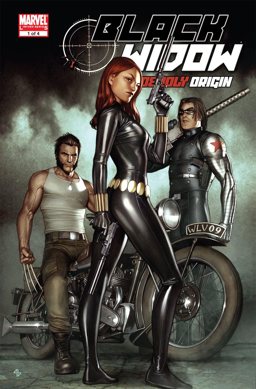 Comic completo Black Widow: Deadly Origin