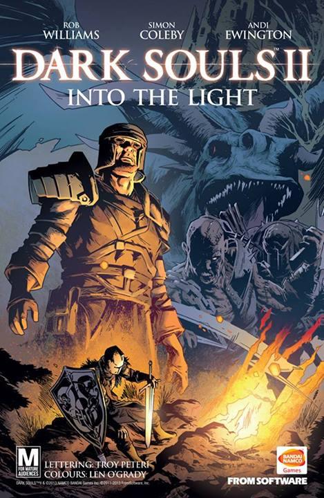 Comic completo Dark souls II: Into the Light
