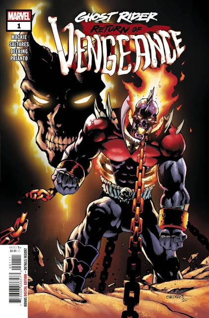 Comic completo Ghost Rider Return Of The Vengeance