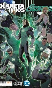 Comic completo Green Lantern y el Planeta de los Simios