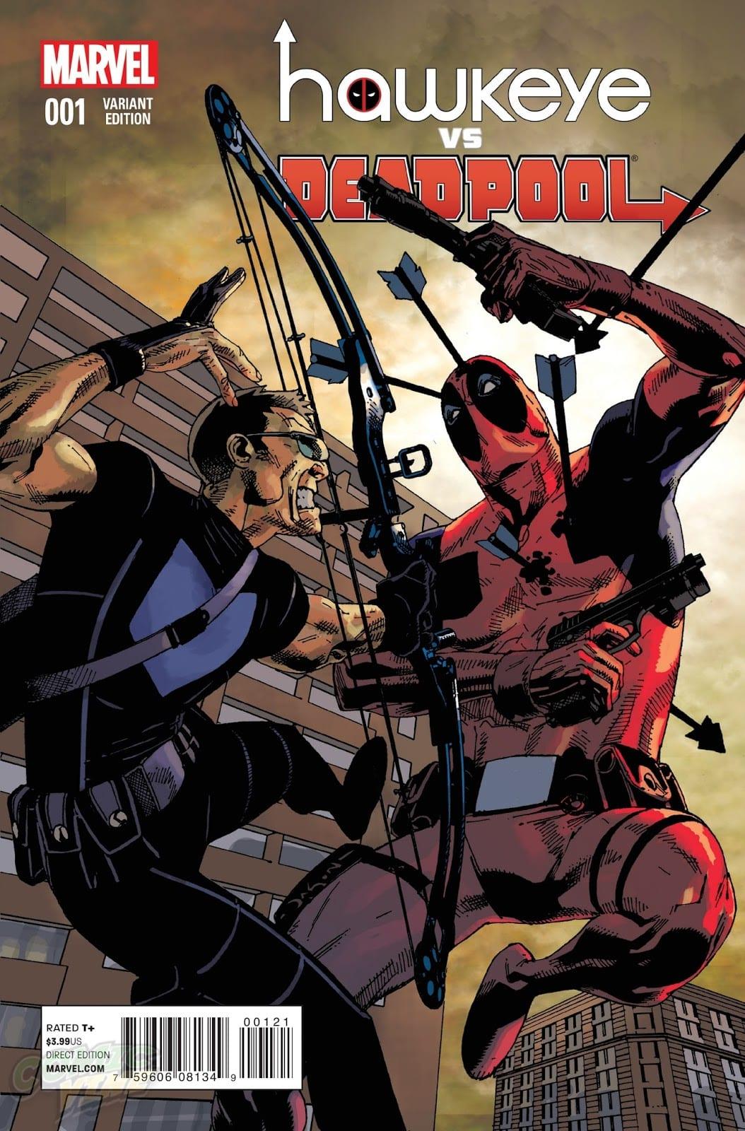 Descargar Hawkeye VS Deadpool comic