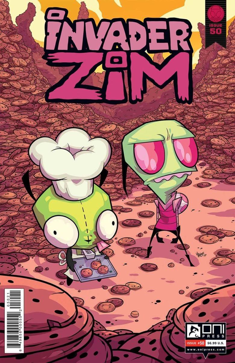 Comic completo Invader Zim