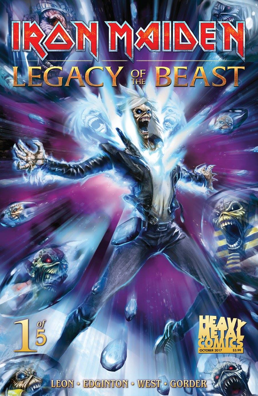 Comic completo Iron Maiden Legacy Of The Beast