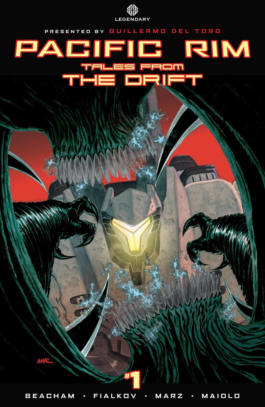 Comic completo Pacific Rim: Tales From The Drift
