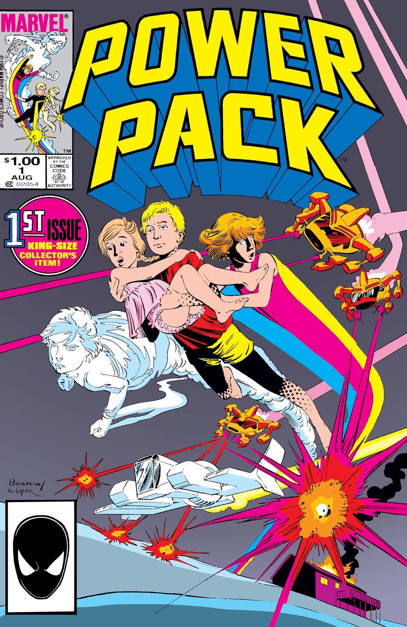 Comic completo Power Pack Volumen 1