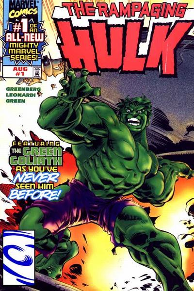 Comic completo The Rampaging Hulk Volumen 2