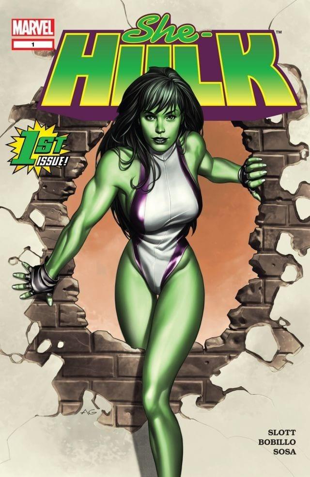 Comic completo She-Hulk Volumen 1
