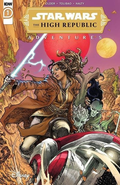 Comic completo Star Wars The High Republic Adventures