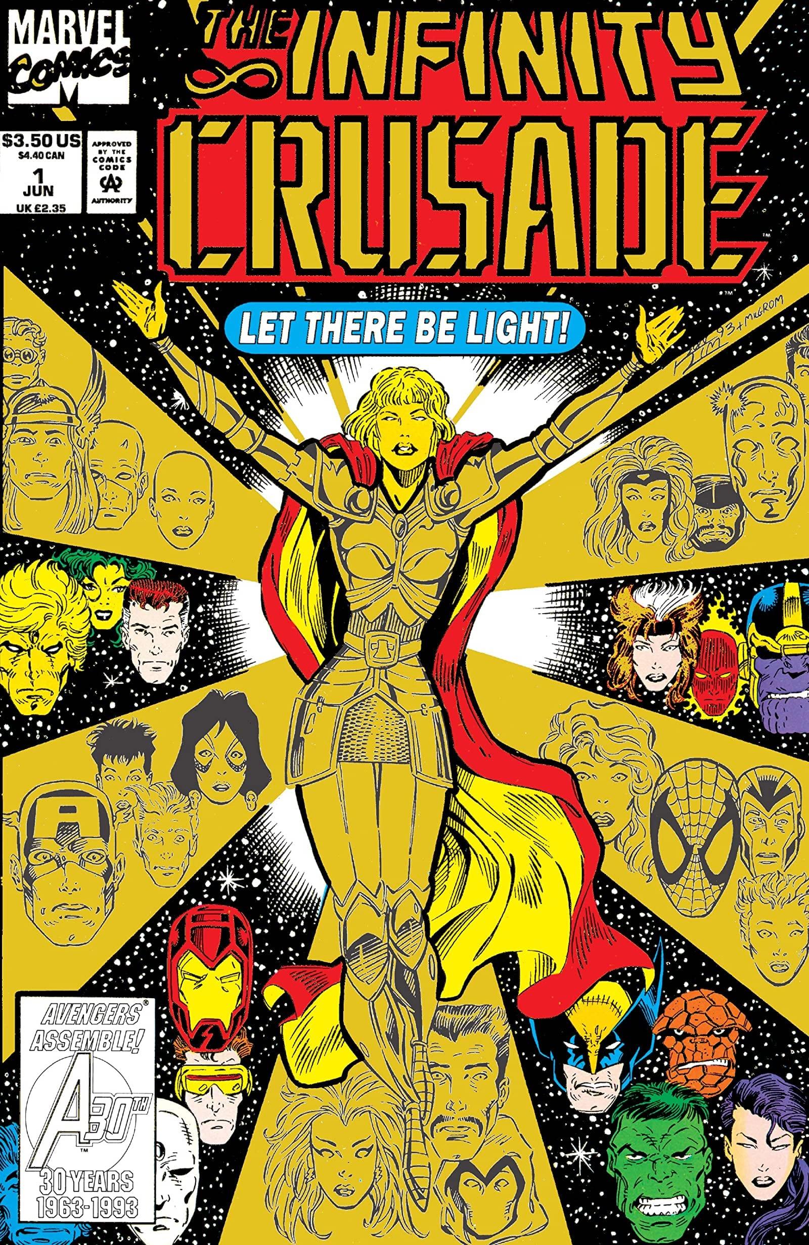 Comic completo The Infinity Crusade