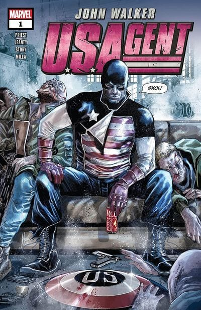 Comic completo Us Agent
