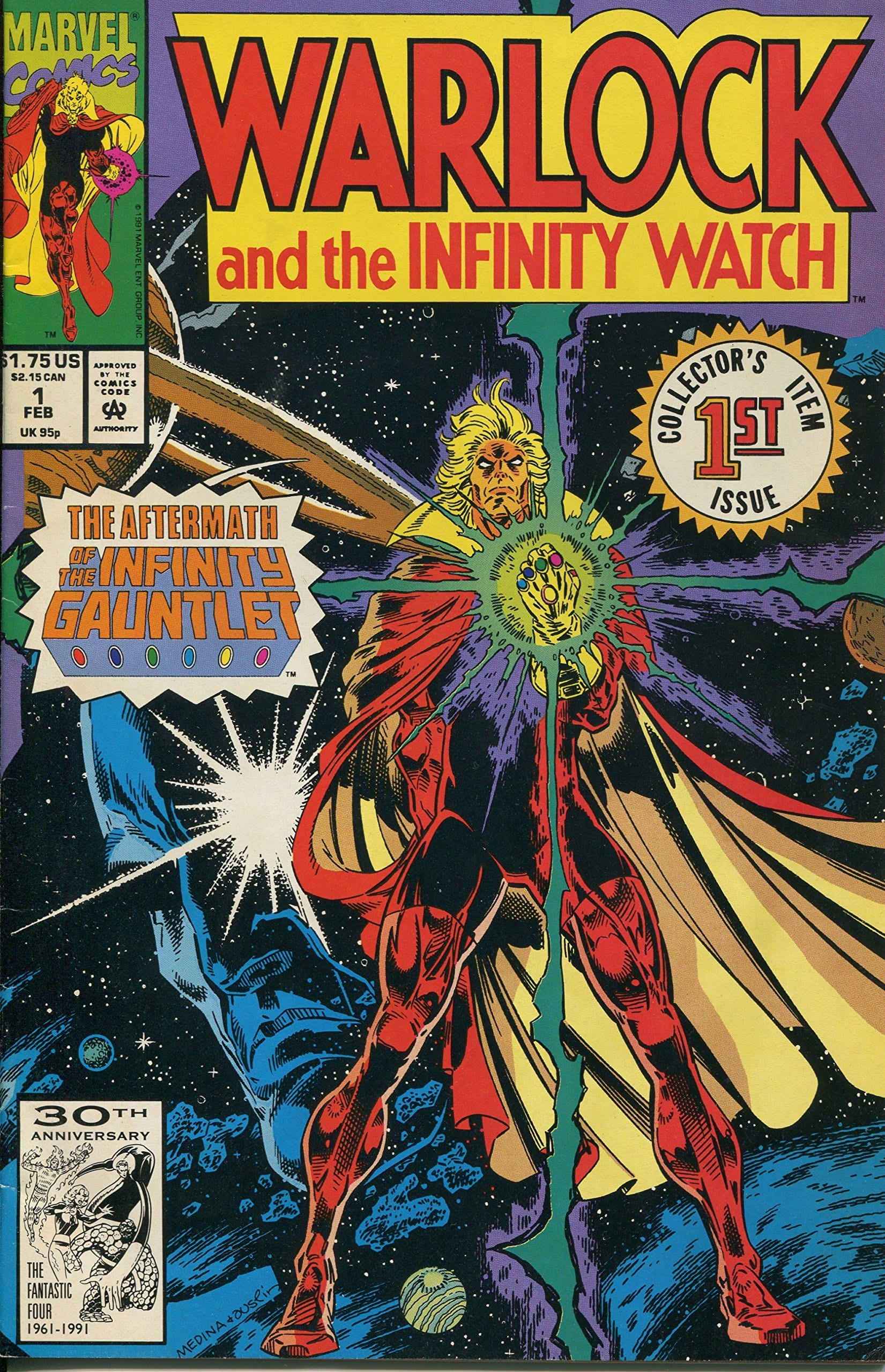 Comic completo Warlock and the Infinity Watch