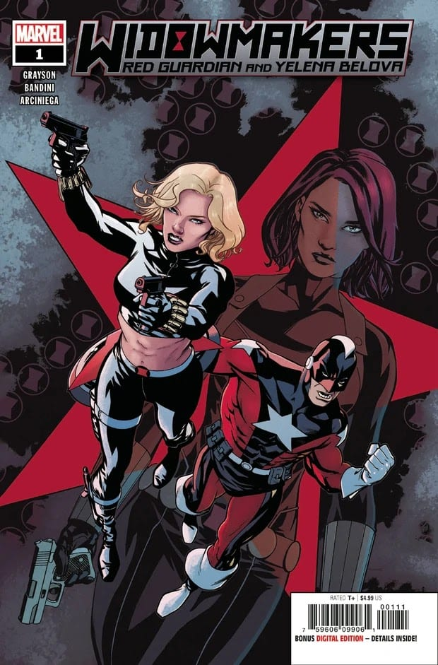 Descargar Widowmakers Red Guardian and Yelena Belova comic