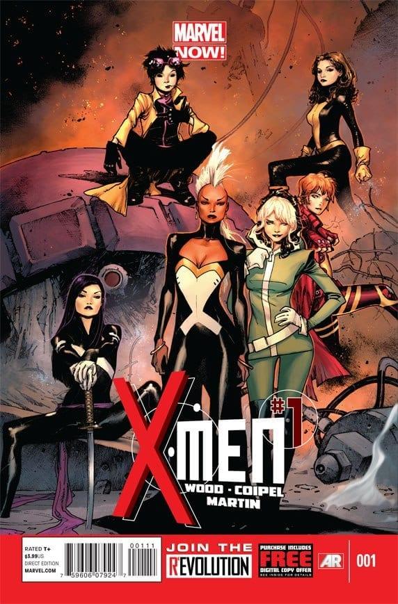 Comic completo X-Men Volumen 4