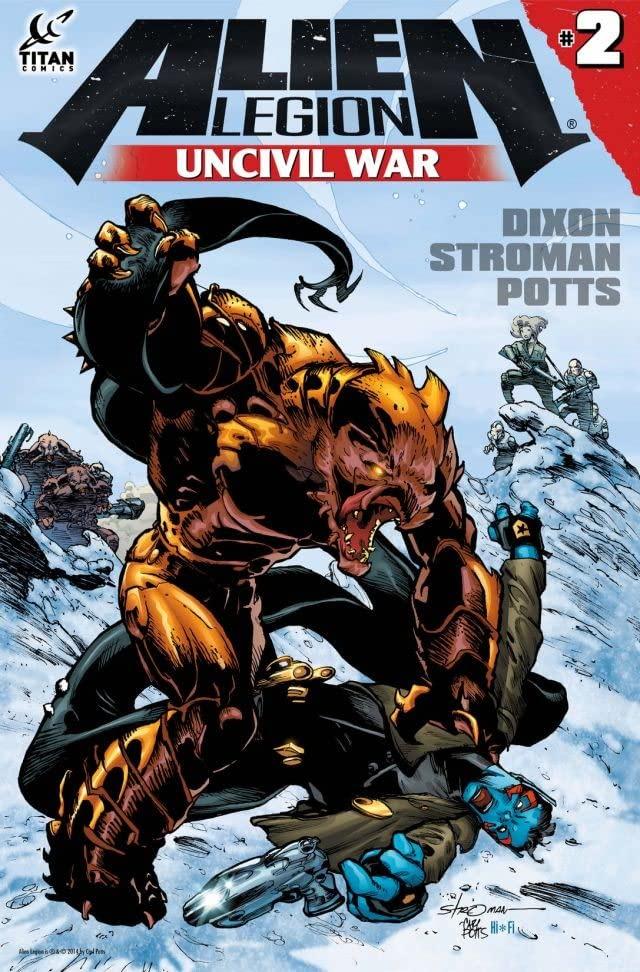 Comic completo Alien Legion: Uncivil War